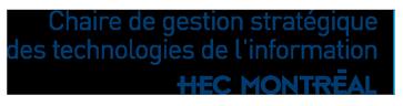 Chaire de gestion stratégique des technologies de l'information Logo